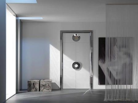межкомнатные двери в стиле хай тек