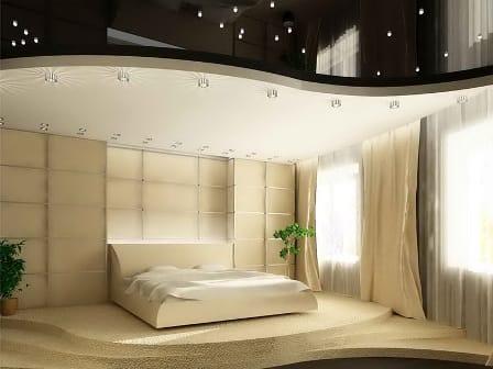 подвесной потолок и подиум