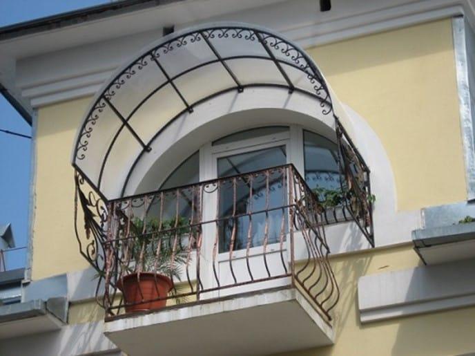 Консольная крыша на балкон