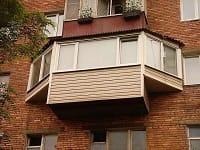 Различные способы расширения балконов