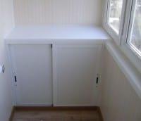 шкаф-погреб для балкона