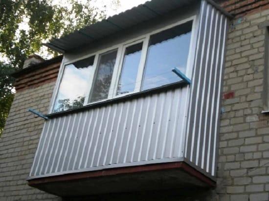 Так будет выглядеть балкон после ремонта