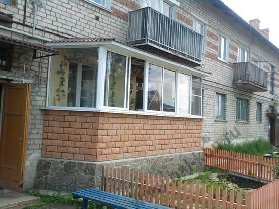 Приставной балкон своими руками