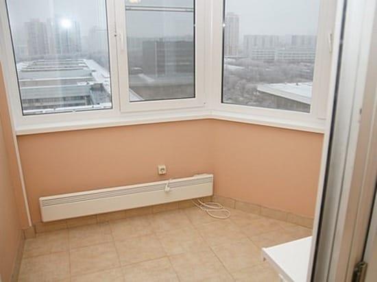 Вот так можно организовать утепление балкона