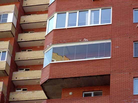 Балкон и лоджия легко отличимы