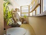 Оригинальный интерьер балкона своими руками!