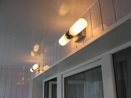Настенные светильники со скрытой проводкой