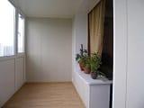 Отделка балкона вагонкой, пластиком и другими материалами