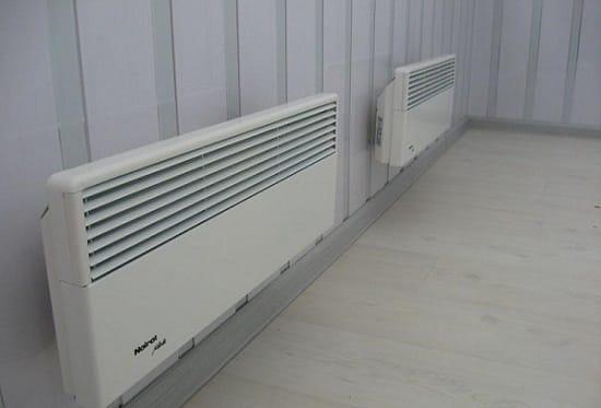 Конвекторы для обогрева балкона