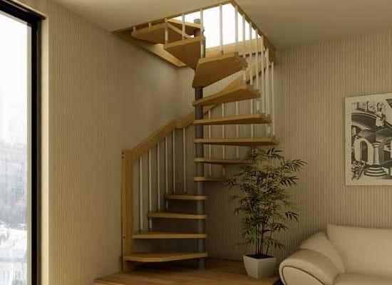 Правильное расположение лестницы на мансарду