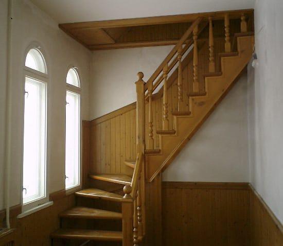 Мансардная лестница своими руками