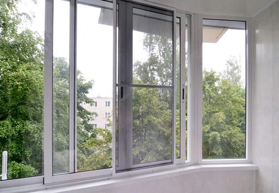 Раздвижные окна ПВХ для лоджии