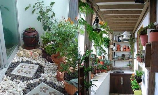 Варианты переделки лоджии в зимний сад