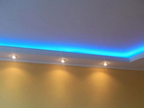 Плинтус со светодиодной подсветкой