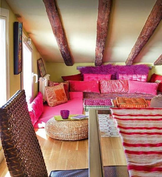 Обустройство мансарды с низким потолком