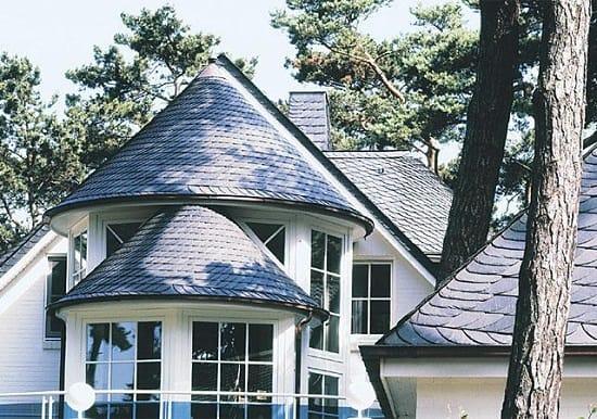 Коническая мансардная крыша