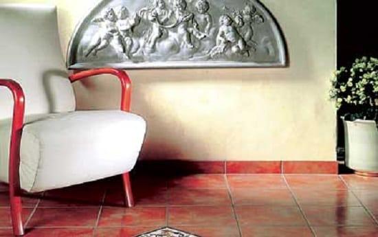Плинтус напольный керамический в интерьере