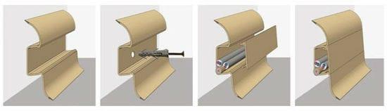 Схема установки плинтуса с кабель каналом