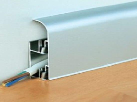Электропроводка в плинтусе с кабель каналом