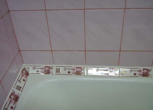 Размер керамического плинтуса для ванной