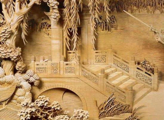 Деревянные панели для перил крыльца