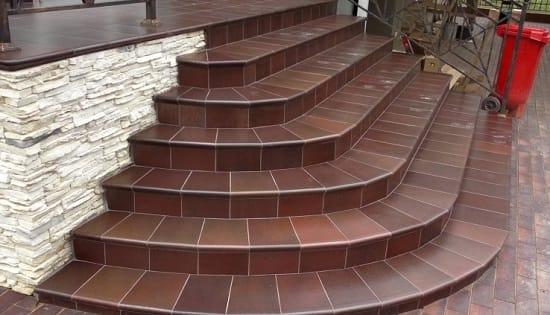 Керамическая плитка для ступеней крыльца