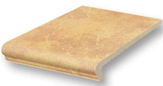 Плитка клинкерная с загибом для крыльца