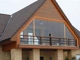 Виды мансардных балконов с фото примерами