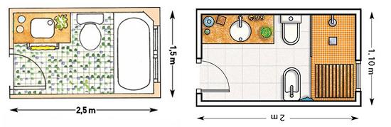 Примеры планировки саузла
