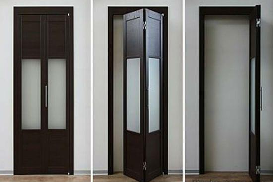 Двери-гармошка в санузел