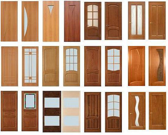 Виды ламинированных дверей для санузла