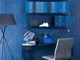 Выбор голубых обоев для спальни, гостиной, детской и прихожей