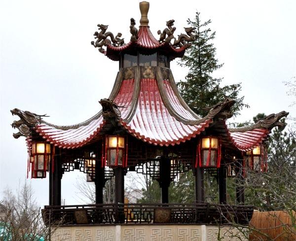 Китайская беседка-пагода