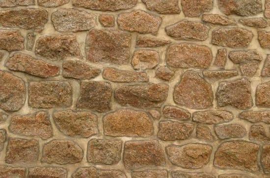 Метод кладки под лопатку для стен каменной беседки