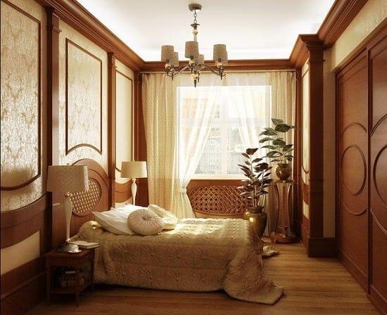 Плавные и округлые линии в декорировании мебели для спальни модерн