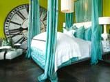Спальня в зеленых тонах: фисташковых, салатовых, фото примеры