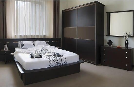 Меблировка спальни в японском стиле