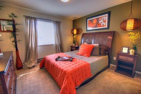 Расположение мебели в спальне согласно фен-шуй