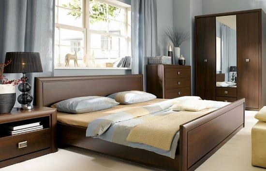 Мебель для спальни в стиле минимализм с комодом