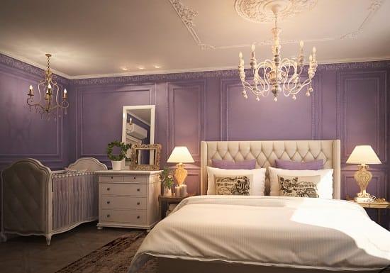 Дизайн совмещенной спальни маленького мальчика и родителей