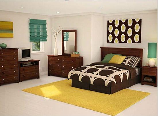 Молодежный дизайн классической спальни для подростка