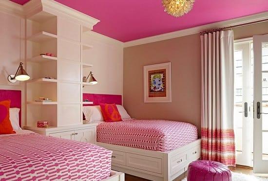 Прикроватные бра для дополнительного освещения спальни девочек