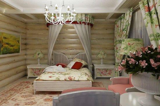 Идея для декорирования спальни при помощи текстиля сочных оттенков