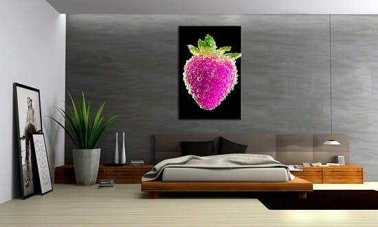 Использование в оформлении минималистической спальни оттенков серого цвета