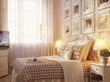Оформление интерьера спальни в стиле классический кантри