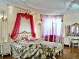 Современный и классический дизайн занавесок в спальню, фото примеры